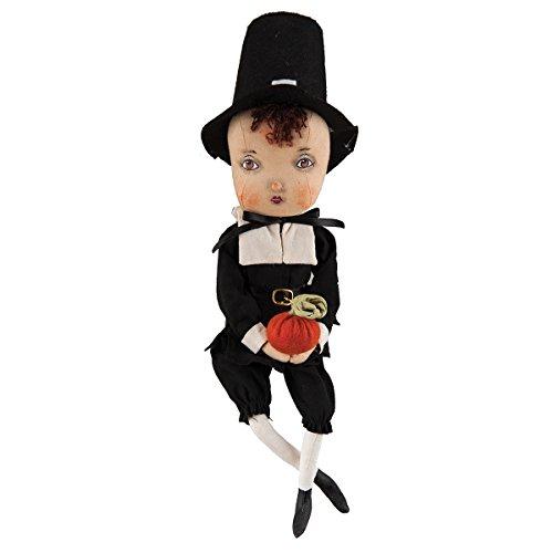 C F Home Adam Pilgrim Figure Fabric Doll, 15-in.