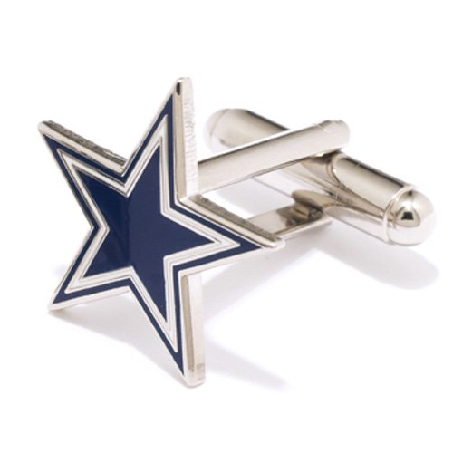NFL Dallas Cowboys Team Logo Cufflinks by Football Fanatics