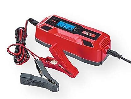 Cargador de Batería para Coches y Moto con 6V o 12V y Capacidad de ...