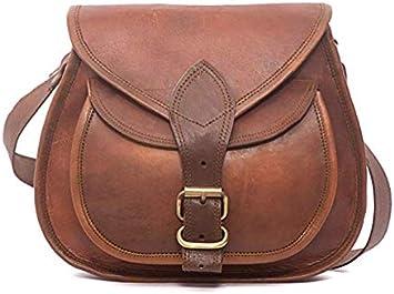 Vintage Purse Bag Leather Cross Body Shoulder Messenger Bag For Women Girls