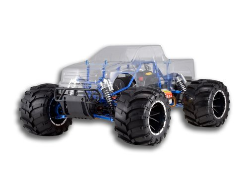 Redcat Racing Rampage MT PRO V3 Gas Truck, Clear Body, 1/5 Scale