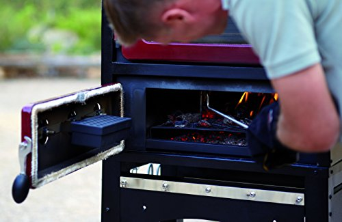 Alfresco Home 82-1004 Fornetto Alto Wood Fired Oven & Smoker for Built-In Use, Brick by Alfresco Home (Image #6)