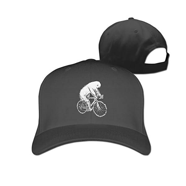 Adjustable Baseball Caps - Sloth On A Bike -
