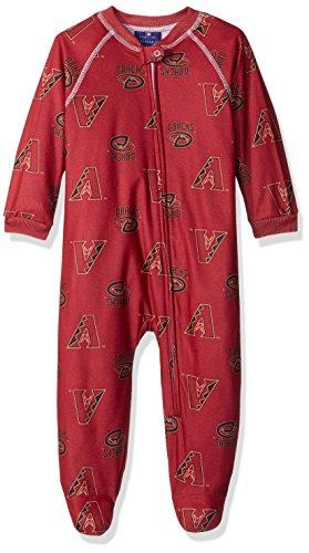 MLB-Infant-Boys-Team-Print-Sleepwear-Coveralls