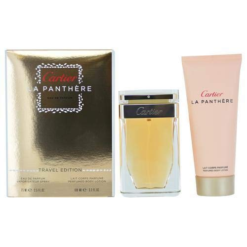 La Panthere by Cartier Travel Edition 75ml+3.3oz B/L (2.5)