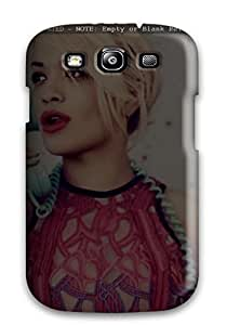 Galaxy High Quality Tpu Case/ Rita Ora Celebrities LJQdFJg6786EpgQF Case Cover For Galaxy S3