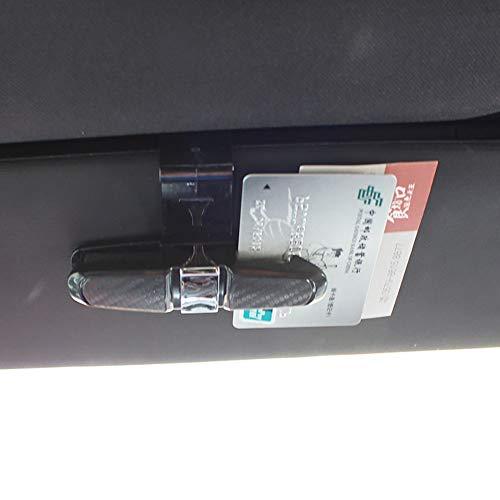 Lunettes avec nbsp;PC Clip Violet Noir Lunettes 1 pour Voiture Lunettes Support pour pour Sangle EUfW1YOwq