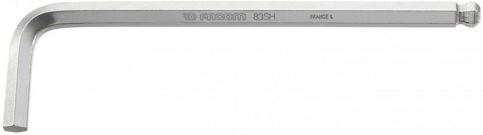 6 pans 1,5 mm Facom 83SH.1,5ST Cl/é m/âle longue INOX
