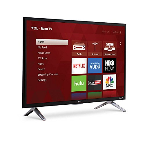 TCL 55S405 55-Inch 4K Ultra HD Roku Smart LED TV (2017 Model)