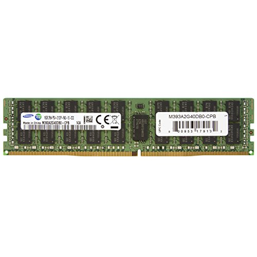 System Ecc Memory (Samsung DDR4 2133MHzCL15 16GB RegECC 2Rx4 (PC4 2133) Internal Memory M393A2G40DB0-CPB)