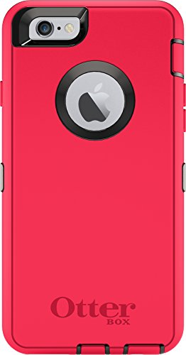 "Latest OtterBox DEFENDER Case for Apple iPhone 6s and iPhone 6 Case (4.7"") - Retail Packaging - BLAZE ORANGE/BLACK orange iphone case 8"