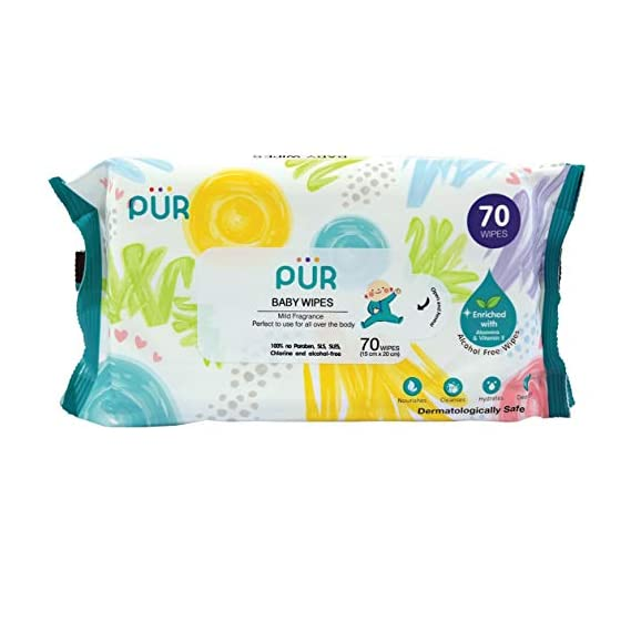 Pur Baby Wet Wipes (70 Wipes)