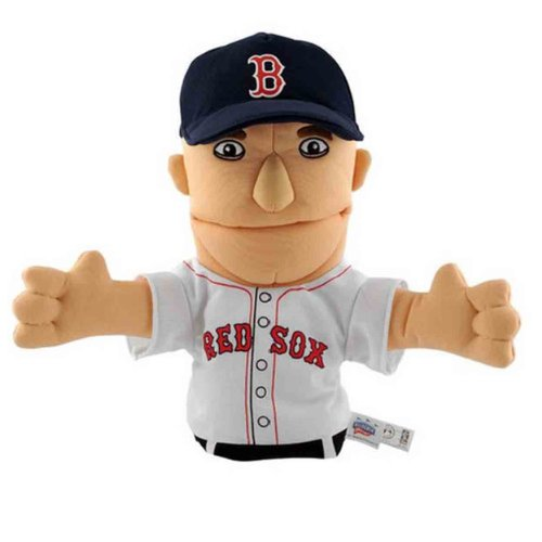 - MLB Boston Red Sox Bleacher Creatures 11-Inch Dustin Pedroia Hand Puppet
