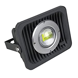 Zesol Waterproof IP65 die cast Aluminum Housing 50W LED Flood Light AC/DC12-24V Cool White