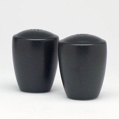 Noritake Colorware Salt and Pepper Shakers, Graphite by Noritake