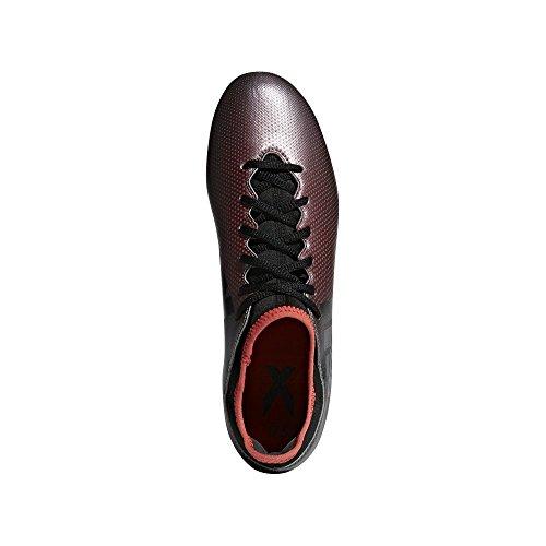 Adidas X 17.3 Suelo duro Adulto 42 bota de fútbol - Botas de fútbol (Suelo duro, Adulto, Masculino, Suela con tacos, Negro, Coral, Gris, Estampado)