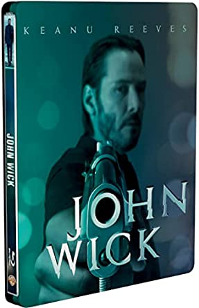 John Wick Steelbook UK Exclusive Limited Edition Steelbook Blu-ray