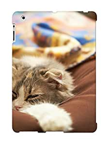 Ipad 2/3/4 Qdumtvu3515ofxEk Lazy Cat Tpu Silicone Gel Case Cover For Lovers