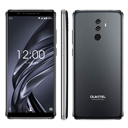 Alexander Dual Back Cameras, Face ID & Fingerprint Identification, 5000mAh Battery, 6.0 inch Android 8.0 MTK6750T Octa Core up to 1.5GHz, Network: 4G, OTG Xone (Color : Color1)