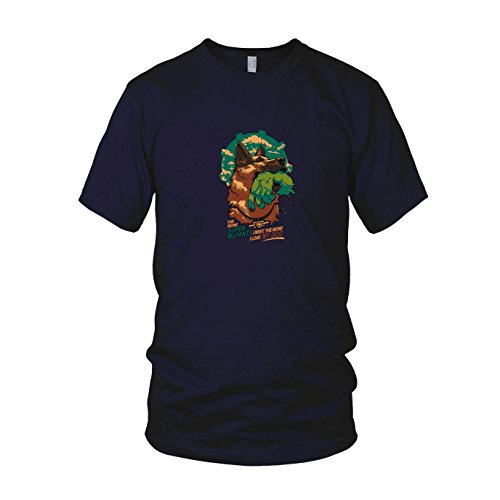 Super Mutant Dog - Herren T-Shirt, Größe: M, dunkelblau