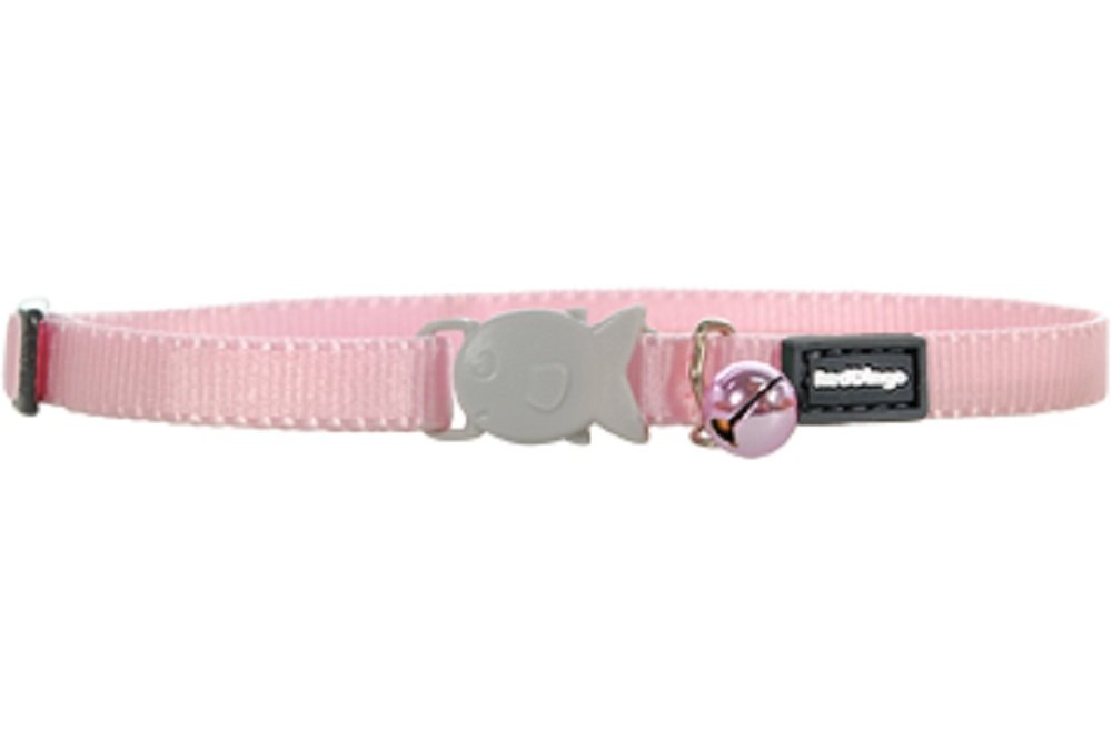 Red Dingo Kitten Collar, One Size Fits All, Pink