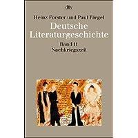 Deutsche Literaturgeschichte, Band 11: Die Nachkriegszeit. 1945-1968