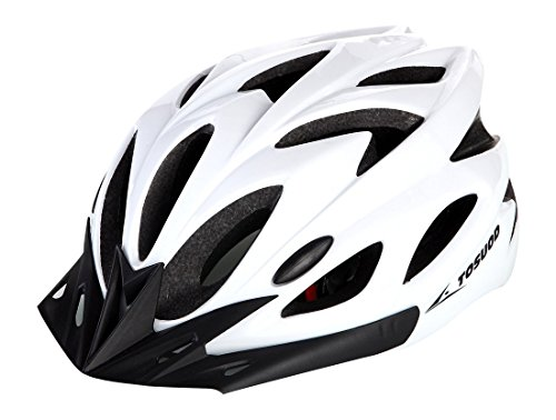 No.66 TOWN Adults Lightweight Road Mountain Cycling Bike Helmets White