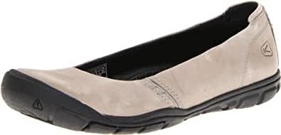 KEEN Women's Delancey Ballerina CNX Shoe,Neutral Gray,5 M US