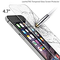 Letton Premium Tempered Glass Screen Protector Film for Apple Iphone 6 and Iphone 6s 4.7 (1pack)