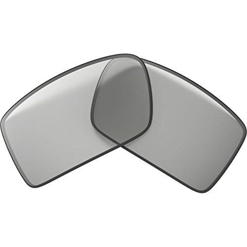 Oakley Gascan 13-666 Iridium Rimless Sunglasses,Multi Frame/Titanium Lens,One - Oakley Sunglasses Titanium