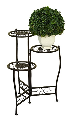 Deco 79 Metal Plant Stand, 24 18-inch