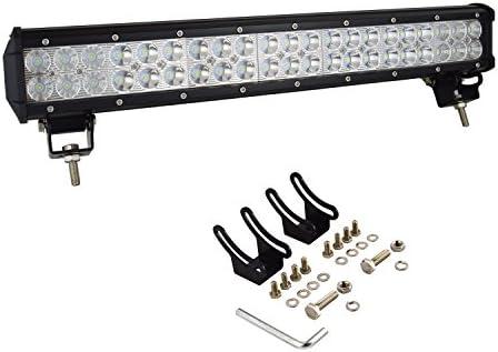 20 INCH 108W CREE Led Light Bar Spot Light Driving Offroad 4x4WD Truck ATV Lamp
