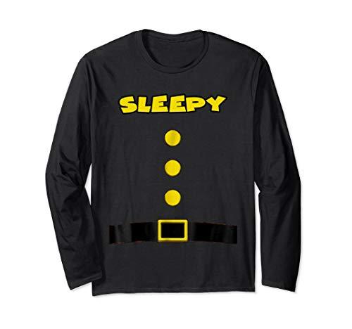sleepy Dwarf Halloween Costume sleepy Dwarf Tshirt sleepy