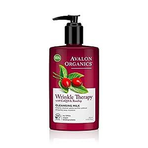 Avalon Organics Wrinkle Therapy CoQ10 Cleansing Milk, 8.50 oz