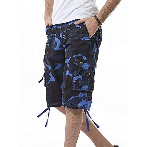 Jeans R Sportivi Di Esterno Stoffa Abbigliamento Pantaloni Uomo Field Ranger Chino Blau Mimetici Cargo Da Army pqT68
