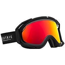 Electric Rig Ski Goggles, Gloss Black, Bronze/Red Chrome