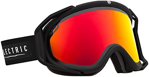 Electric Visual RIG Gloss Black Bronze Red Chrome Snow Goggle