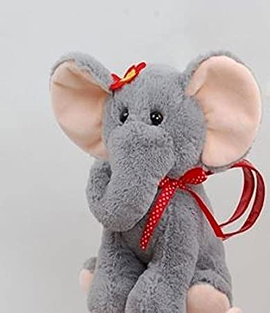 Linzy Toys 8 Kids Kai Animals Handbag Toy-Elephant Plush