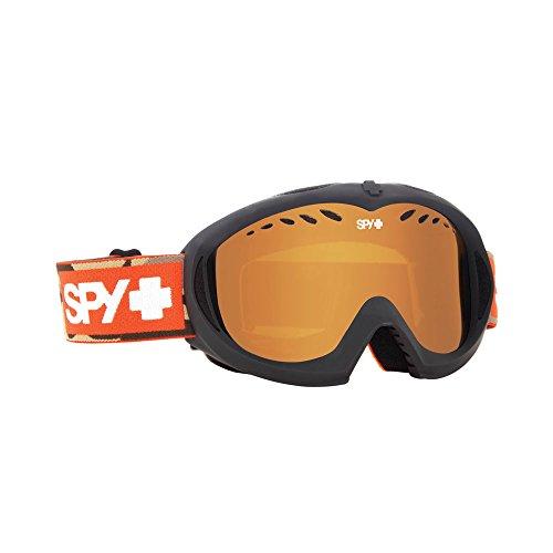 Spy Optic Hide And Seek Targa Mini Winter Sport Racing Snowmobile Goggles, Persimmon, One Size by Spy