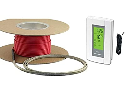 45 Sqft Cable Warming Systems 120 V Electric Tile Radiant Floor