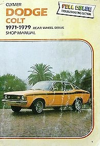 1972 Dodge Colt - Dodge Colt, 1971-1979, shop manual