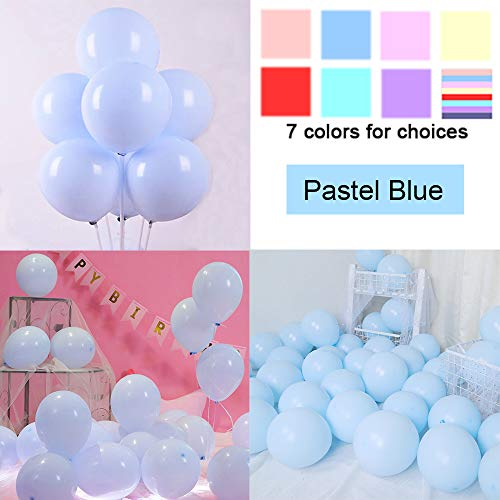 KOMOREBI Latex Pastel Balloons for Party 200 pcs 5 inch Macaron Balloons for Birthday Wedding Engagement Anniversary Christmas Festival Picnic or Any Friends & Family Party Decorations-Pastel - 5 Inch Pastel