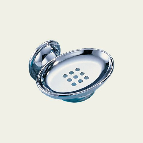 Delta Faucet 78057 Graves Soap Dish with Tray, (Michael Graves Chrome Finish)
