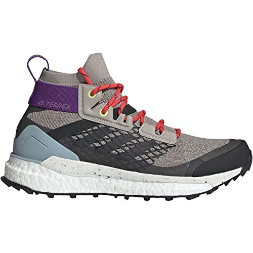 adidas outdoor Terrex Free Hiker Boot - Women's Light Brown/Simple Brown/Ash Grey, 7.5