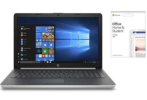 Newest HP 15.6 inch HD Touchscreen WLED Backlight Flagship Premium Laptop PC | Intel Quad Core i5-8250U Processor | 16GB DDR4 RAM | 512GB SSD | DVD-RW | HDMI | WiFi | Office 2019 | Windows 10 Home