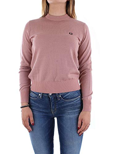 Neck Merino Grey Authentics Knit Perry Crew Pink Fred Classic HqXIwxR