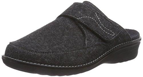 Ganter HERA, Weite H - Zuecos de fieltro mujer gris - Grau (antrazit 6200)