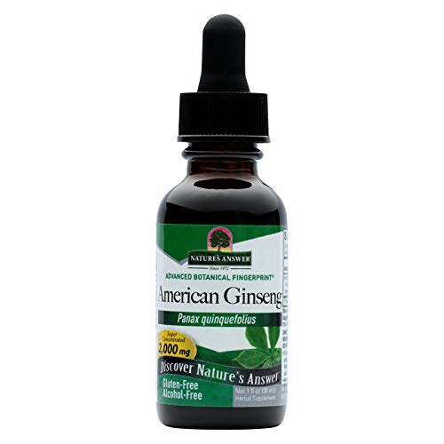 Nature's Answer American Ginseng Root Alcohol Free - 1 fl oz