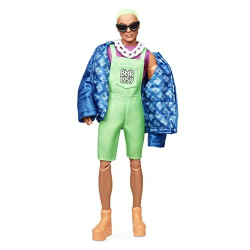 Barbie BMR1959 Ken Fully Poseable Fashion Doll with Neon Hair