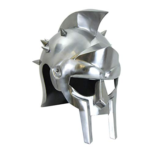 Helm Gladiator (Armor Venue Gladiator Helm with Spikes - 18 Gauge)